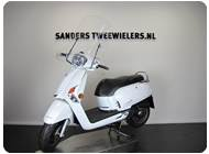 Kymco like wit sanders tweewielers groesbeek
